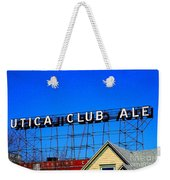 Utica Club Ale West End Brewery Weekender Tote Bag