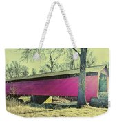 Utica Mills Covered Bridge Weekender Tote Bag