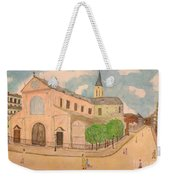 Utrillo And Church Seasonal Change In Paris By Japanese Artist Weekender Tote Bag
