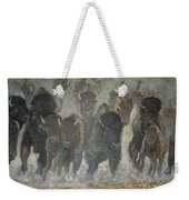 Uttc Buffalo Mural Center Panel Weekender Tote Bag