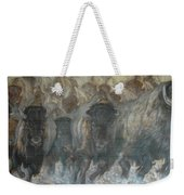 Uttc Buffalo Mural Right Panel Weekender Tote Bag