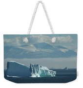 Uummannaq Ice Weekender Tote Bag