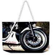V Four Weekender Tote Bag