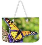 V Shaped Monarch  Weekender Tote Bag