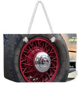 V8 Wheels Weekender Tote Bag