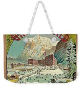 Vacation For Winter Sport Weekender Tote Bag