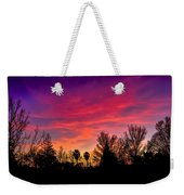Vacaville Sunset Silhouette  Weekender Tote Bag