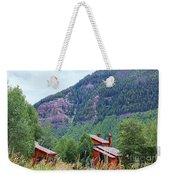 Vail Landscape Weekender Tote Bag