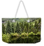 Vail Reflections In The Summer Weekender Tote Bag