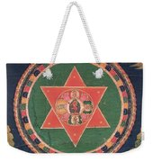 Vajravarahi Mandala Weekender Tote Bag