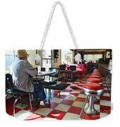 Valentine Diner Interior Weekender Tote Bag