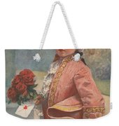 Valentine In The Victorian Era Weekender Tote Bag