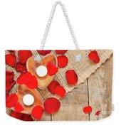 Valentine Mood Weekender Tote Bag