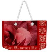 Valentines Day Love Weekender Tote Bag