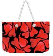 Valentines Hearts Weekender Tote Bag