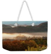 Valley Fog At Sunrise One Weekender Tote Bag