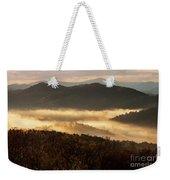 Valley Fog At Sunrise Two Weekender Tote Bag