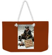 Valley Forge Soldier - Conservation Propaganda Weekender Tote Bag