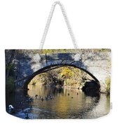 Valley Green Bridge Weekender Tote Bag by Bill Cannon