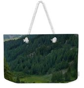 Valley In The French Alps Weekender Tote Bag