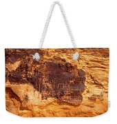 Valley Of Fire Ancient Petroglyphs Weekender Tote Bag