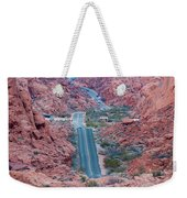 Valley Of Fire Drive Weekender Tote Bag