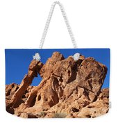 Valley Of Fire Elephant Rock Weekender Tote Bag