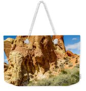 Valley Of Fire - Face In The Rock Weekender Tote Bag