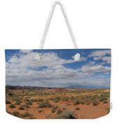 Valley Of Fire Horizon Weekender Tote Bag