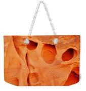 Valley Of Fire Sandstone Weekender Tote Bag
