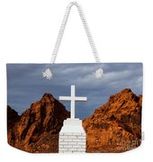 Valley Of Fire State Park Clark Memorial Weekender Tote Bag