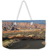 Valley Of Fire State Park Rainbow Vista Weekender Tote Bag