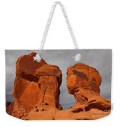 Valley Of Fire State Park Seven Sisters Weekender Tote Bag
