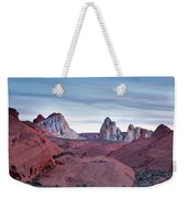 Valley Of Fire Sunset Weekender Tote Bag