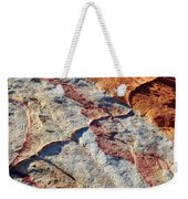 Valley Of Fire White Domes Sandstone Weekender Tote Bag