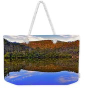 Valley Of Peace Weekender Tote Bag by Kaye Menner
