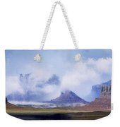 Valley Of The Gods Weekender Tote Bag by Leland D Howard