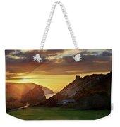 Valley Of The Rocks Weekender Tote Bag