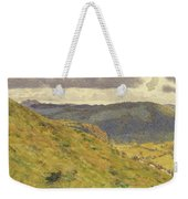 Valley Of The Teme, A Sunny November Morning Weekender Tote Bag