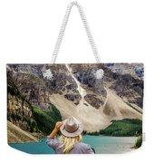 Valley Of The Ten Peaks Weekender Tote Bag by Rod Sterling
