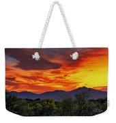 Valley Sunset H33 Weekender Tote Bag