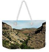 Valley View Of Whitesands Weekender Tote Bag