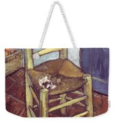 Van Gogh: Chair, 1888-89 Weekender Tote Bag