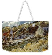 Van Gogh: Cottages, 1890 Weekender Tote Bag