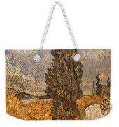 Van Gogh: Cypresses, 1889 Weekender Tote Bag