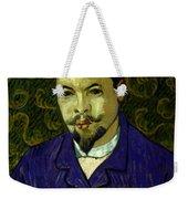 Van Gogh: Dr Rey, 19th C Weekender Tote Bag