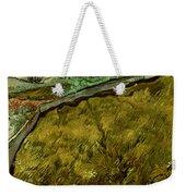 Van Gogh: Field, 1890 Weekender Tote Bag