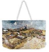 Van Gogh: Gardens, 1887 Weekender Tote Bag