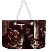Van Gogh: Meal, 1885 Weekender Tote Bag