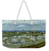 Van Gogh: Peach Tree, 1889 Weekender Tote Bag